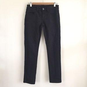 BCBGMaxAzria Mia B Skinny Leg Black Jeans SZ 26
